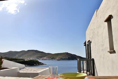 West Cycladic Modern Maisonette - Kéa