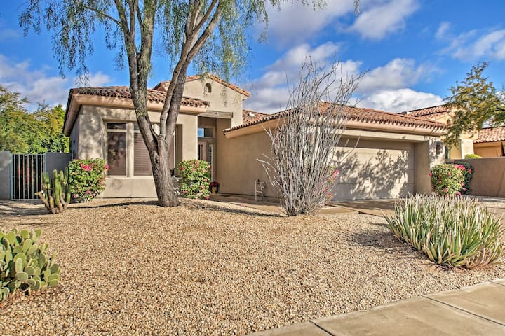 NEW! Spacious Grayhawk Villa w/ Resort Amenities!
