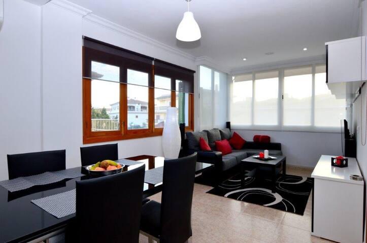 Moderno Apartamento 300m de playa - Alcúdia - Apartment