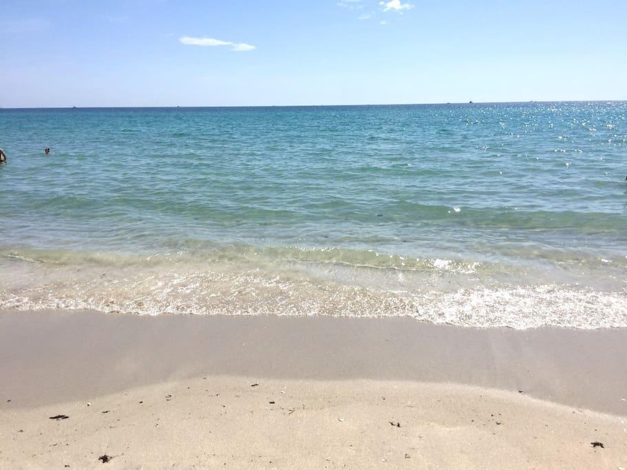 Crystal Clear & Clean Ocean