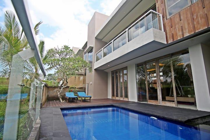 One Bedroom Villa Ubud near Ricefields