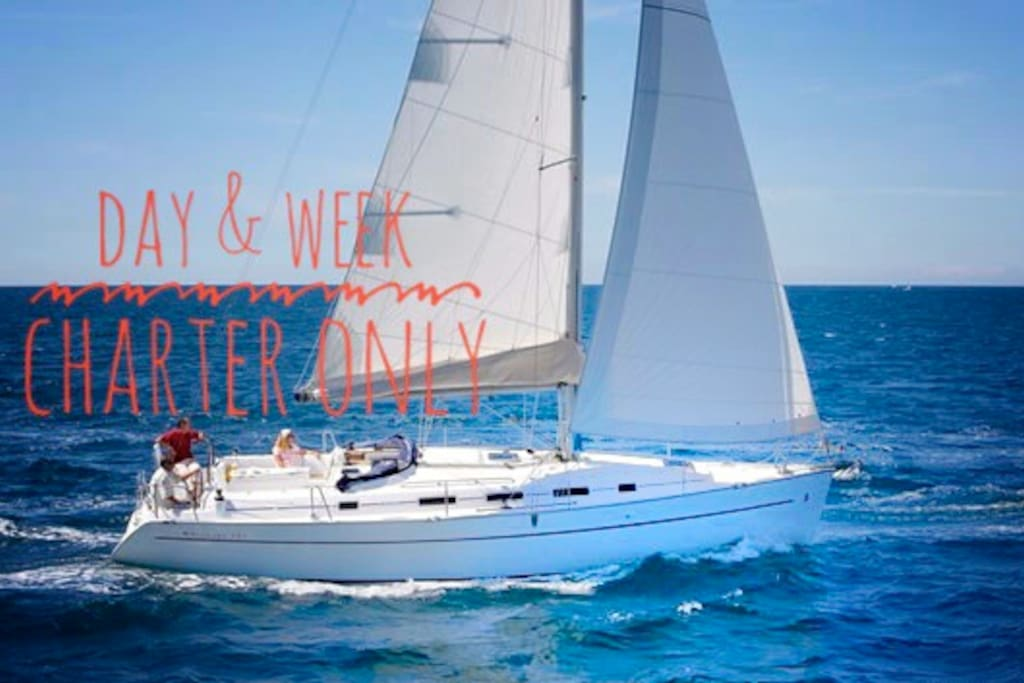 Day charter & Week charter Only: price for 4 hours charter