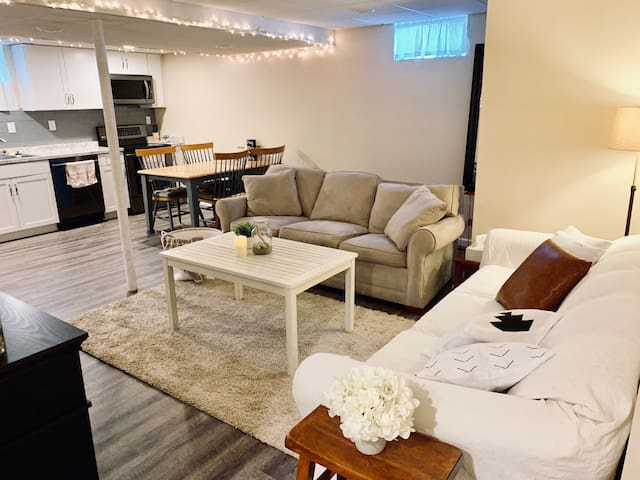 High End Lower Level Apartment in Quiet Suburbia!
