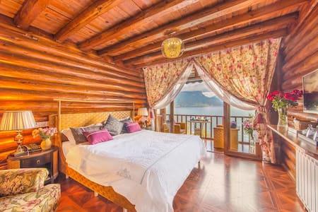 泸沽湖摩梭木楞与美式乡村混搭风格二楼湖景房 - Lijiang - Oda + Kahvaltı