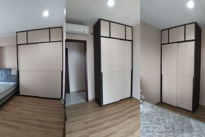 Full Height Wardrobes in All Bedrooms