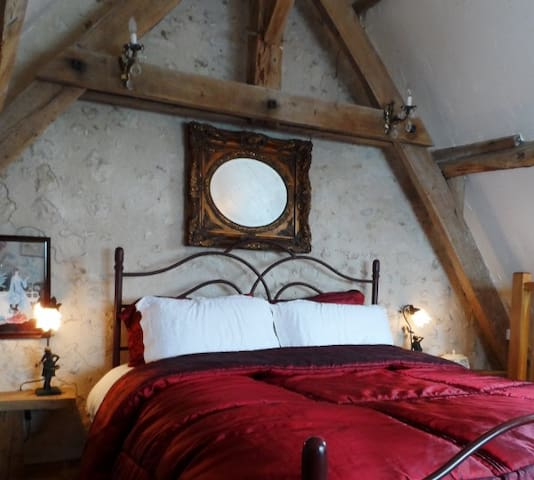 La Revendeur, cosy charming cottage with hot tub! - Thenon - Dom