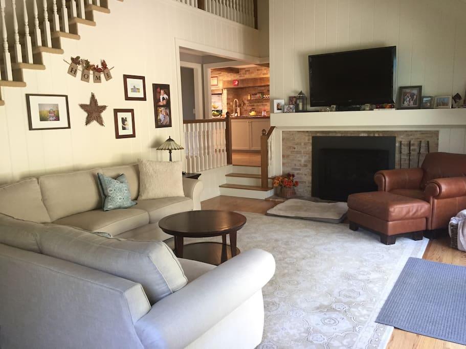 Main floor living space