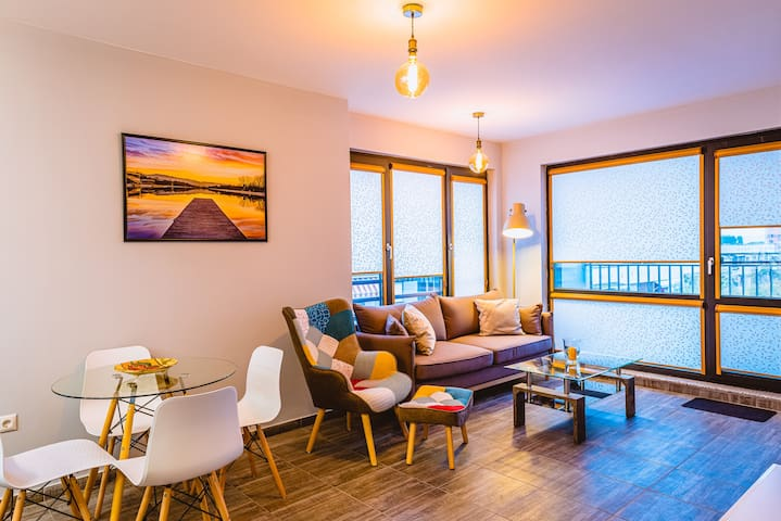 Boutique 1-bedroom flat in the heart of the city