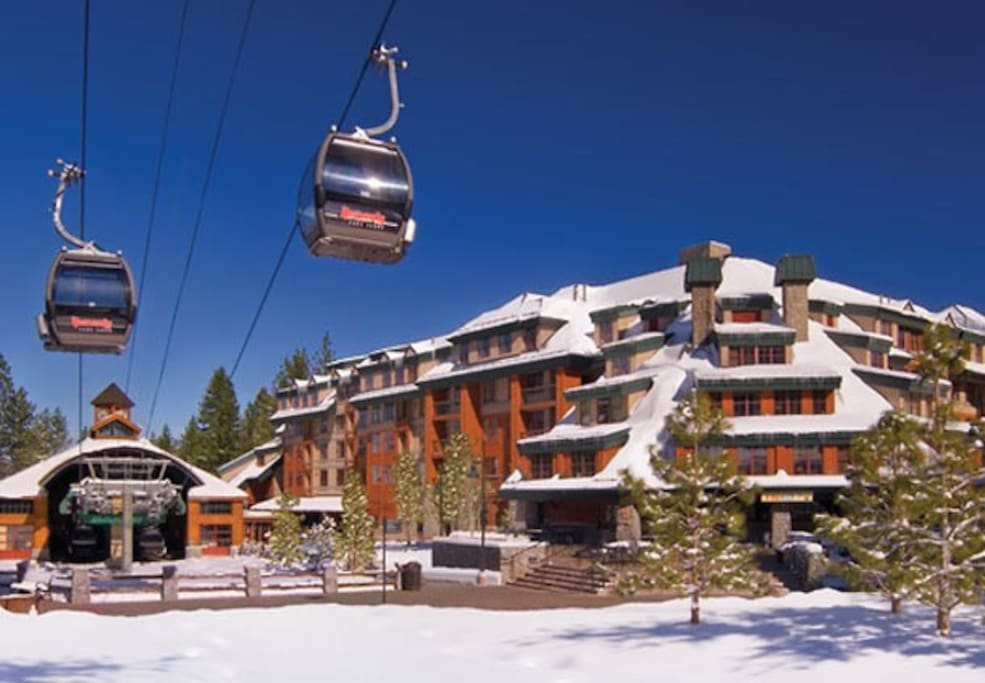 Gondolas to take you to the slopes