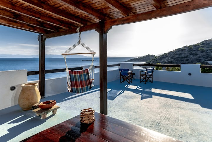 Saronic Seafront | Sea & Sunset View | 4 BD House
