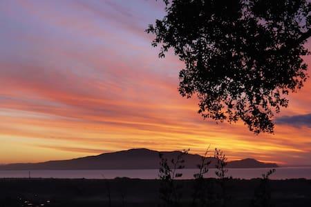 Island views and sunsets from Peka Peka Hill - Peka Peka - House