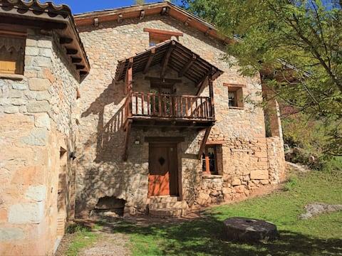 El Molí de Dalt: Pirineo, naturaleza y descanso.
