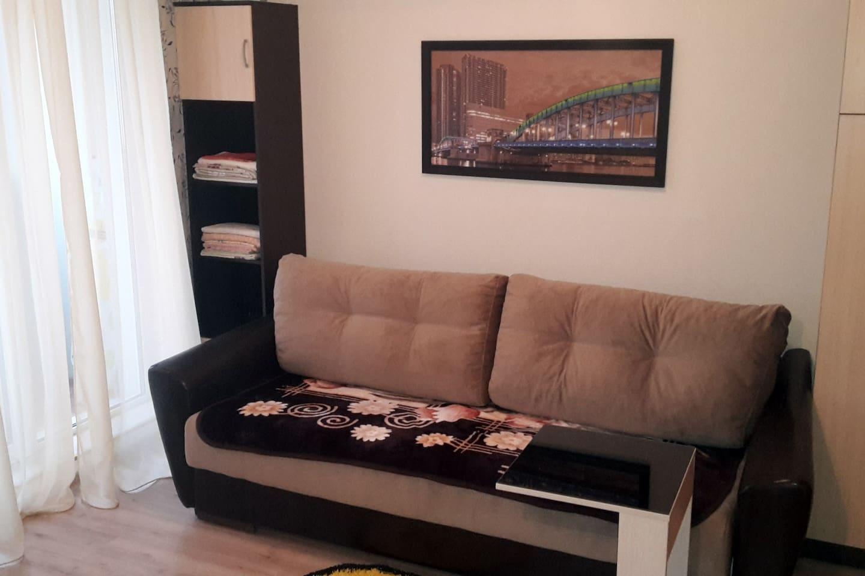 Раскладной диван на пружинном блоке, большой и мягкий