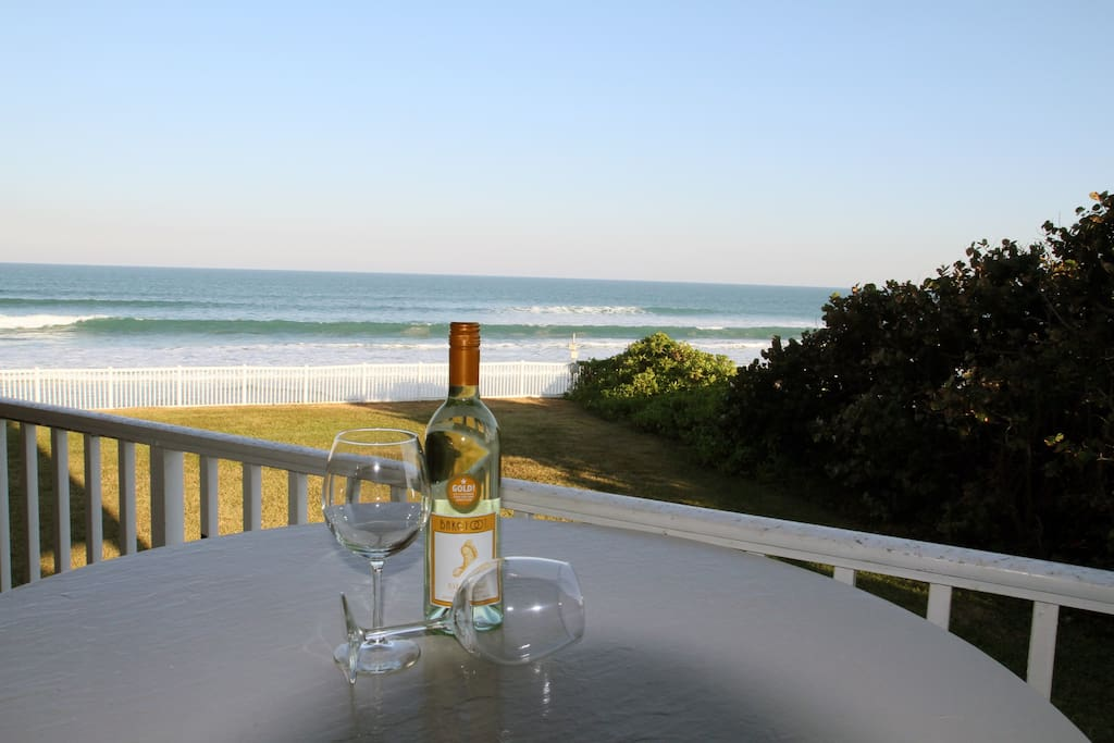 View of the ocean from your private balcony