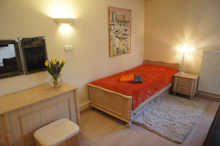 Great room with private bathroom - Poznań - House
