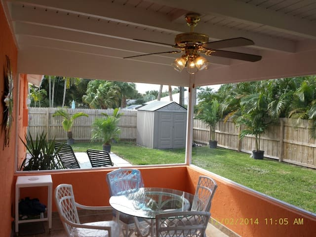 Florida Boutique Patio Home Beauty! - Palm Beach Gardens - Huis