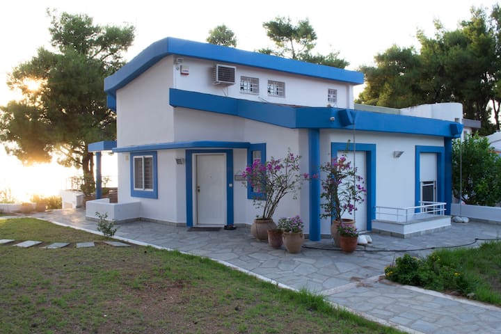 """sani beach """"gallery"""" villa for up to 10 guests - Chalkidiki - Villa"""