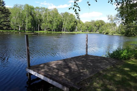 Lake Iola Vacation Home, 3 Bdrms, Very Peaceful