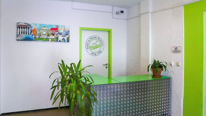 PM-Rooms : Cozy hostel in Munich