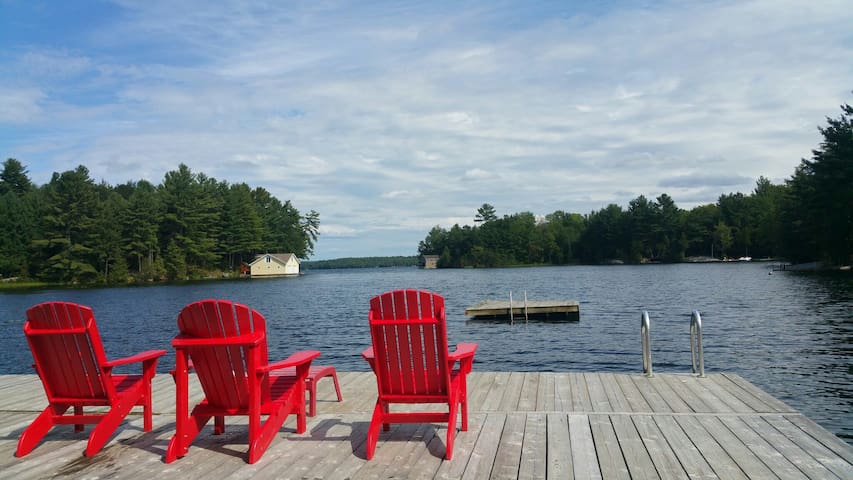 Muskoka Cottage: Great Views&Sports - Georgian Bay - Srub