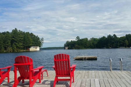 Muskoka Cottage: Great Views&Sports - Georgian Bay - Kabin