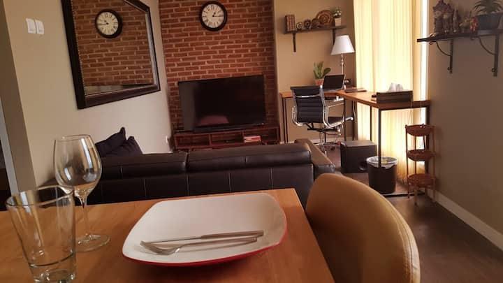 Homey new apartment in Bintaro with Free Wifi