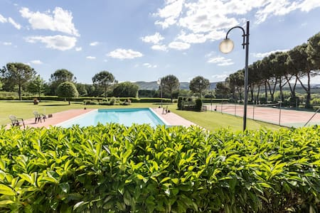 Apt in the heart of Tuscany- Il Fienile - Bucine - Apartemen