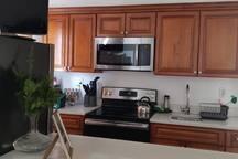 Main kitchen. Shared space