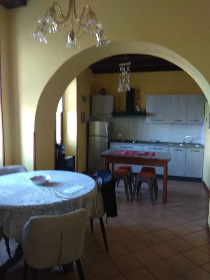 Casa con vista a Toscolano Maderno