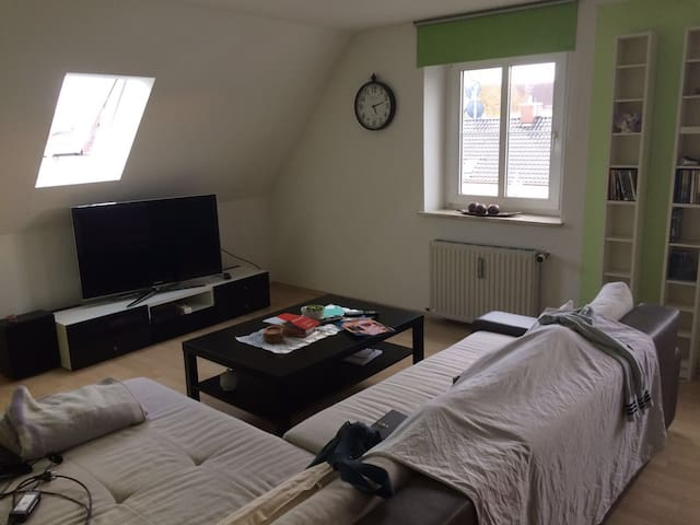 Loving loft apartment in the heart of Augsburg