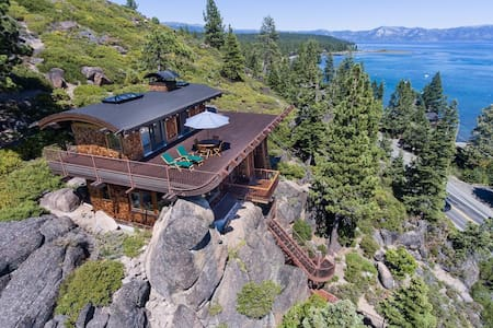 Private Lake Tahoe retreat with great views. - Tahoe City - House