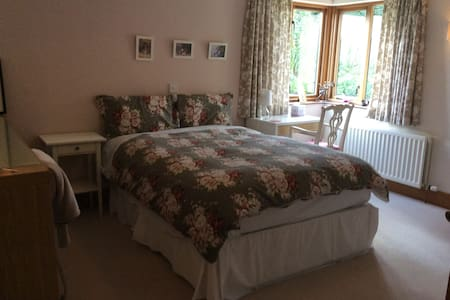 Double Ensuite room in the country (The Pink Room) - Comber - Inap sarapan