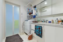 Bathroom space (shared space with the family)