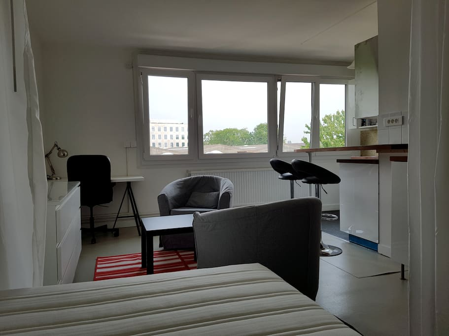 Studio meuble 28 m2 euratechnologie apartments for rent - Studio meuble lille ...
