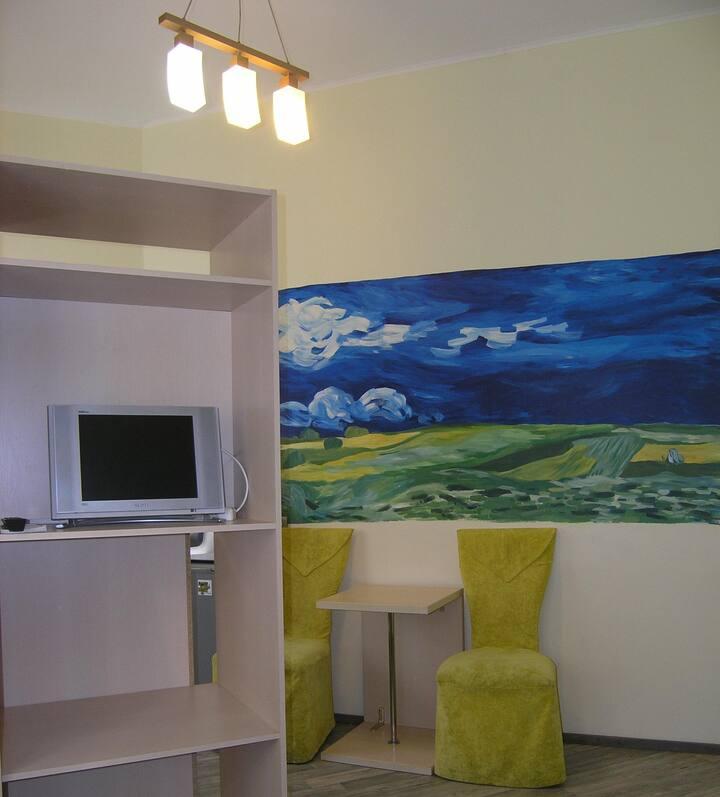 Апартаменты Ван Гог, квартира посуточно