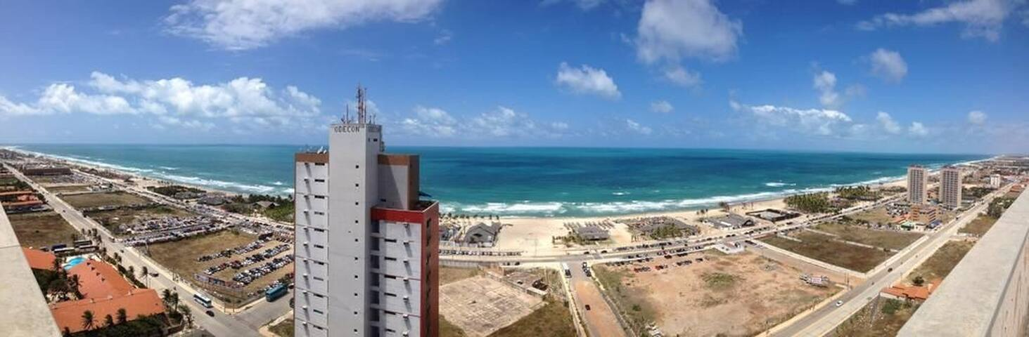 Apartamento VP1401 praia do futuro com linda vista mar