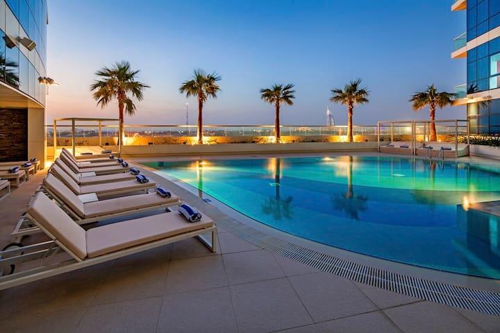 1BR Aparthotel Adagio Premium Dubai Al Barsha