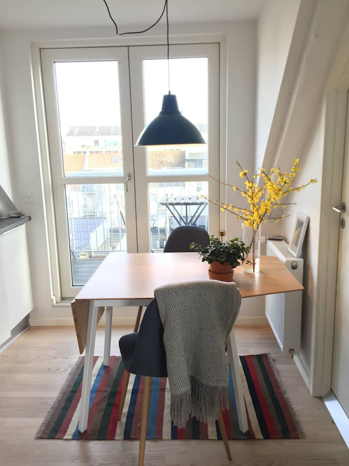 Charming apartment in the hearth of Aarhus