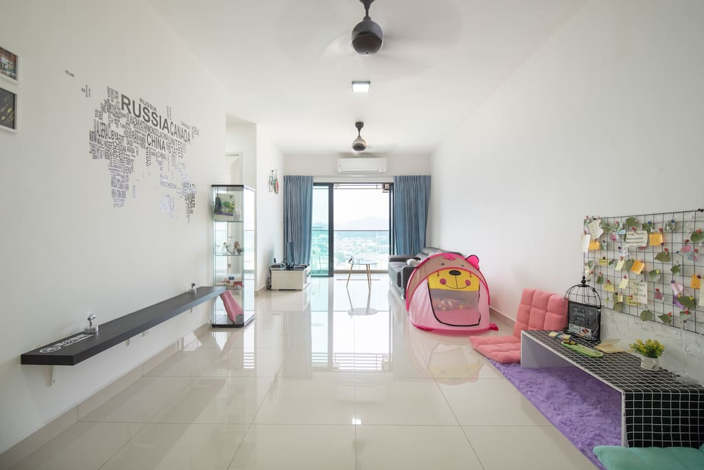 Brand new home stay with cozy design