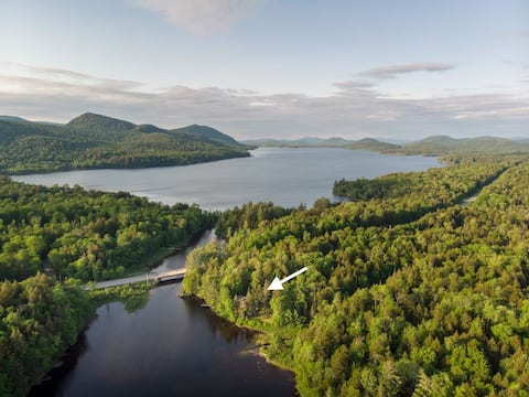 Lakefront Privacy and Romance found at Camp Stardust