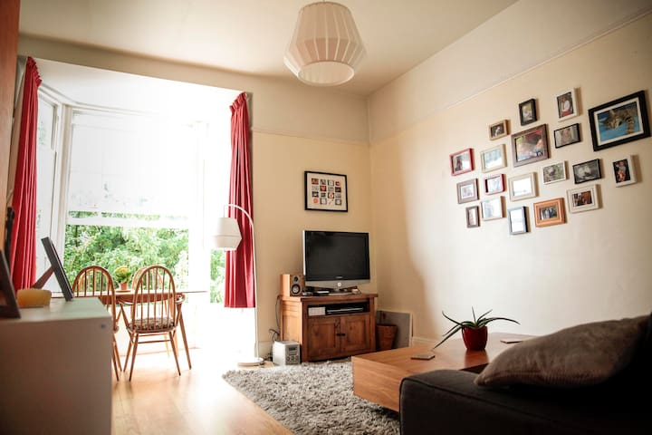 Light and Spacious Flat in Clifton - Bristol - Apartemen