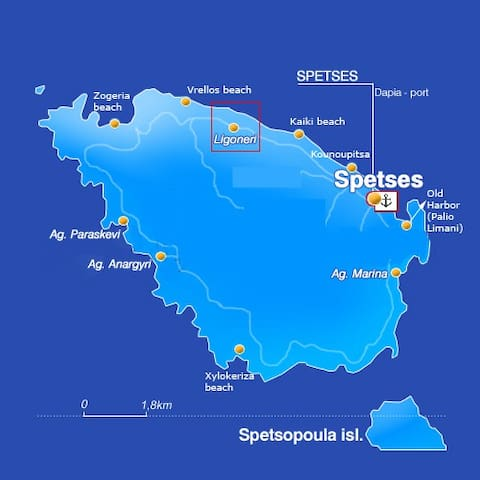 Anna's Guidebook for Spetses!
