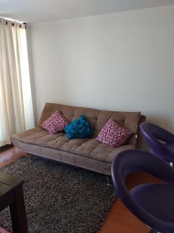 Hermoso y conectado departamento - La Florida - Apartment