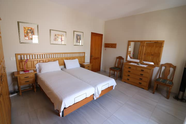 Apartament with private pool and terrace.