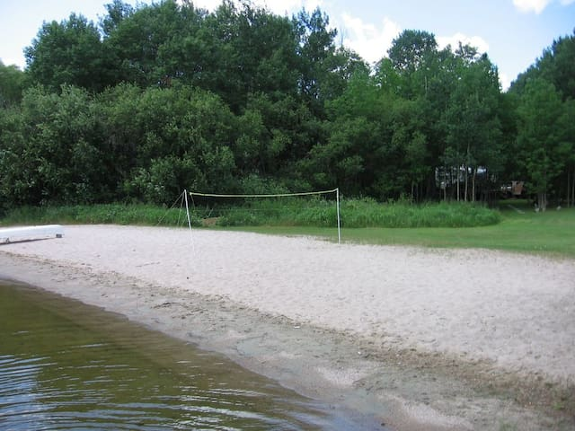 Best private beach on Lake of the Woods!