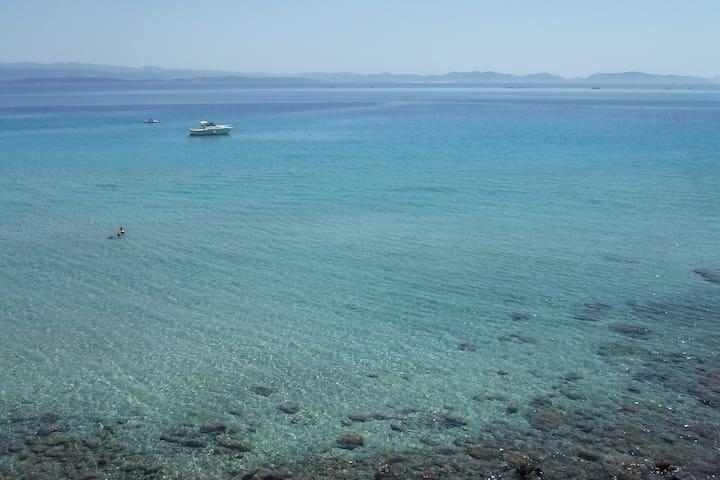 VILLA  BILOCALI in Sardegna vista mare 16 A - Peonia Rosa - Villa