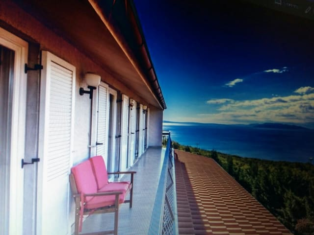 Stunning view apartment Dea near Opatija (90 mq) - Kastav - Apartmen