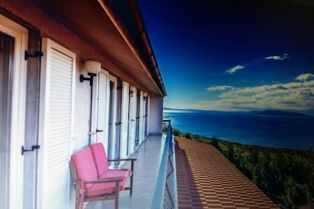 Apartment with sea view near Opatija (up to 6 prs) - Kastav