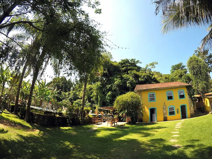 Casa Viva: Suíte 03 em linda Pousada