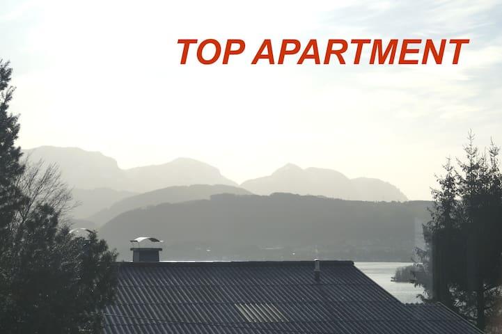 Gmunden, ruhige Whg., Blick zum See - Gmunden - Leilighet